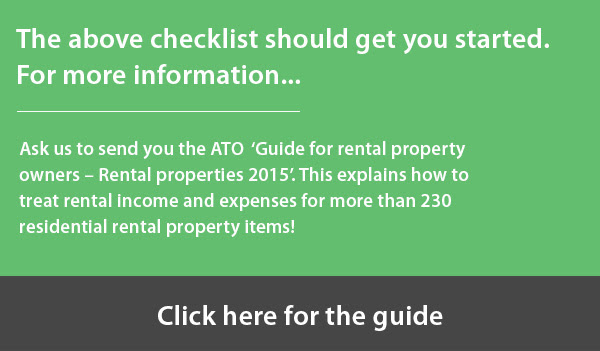 maximising property tax deductions guide for rental property owners